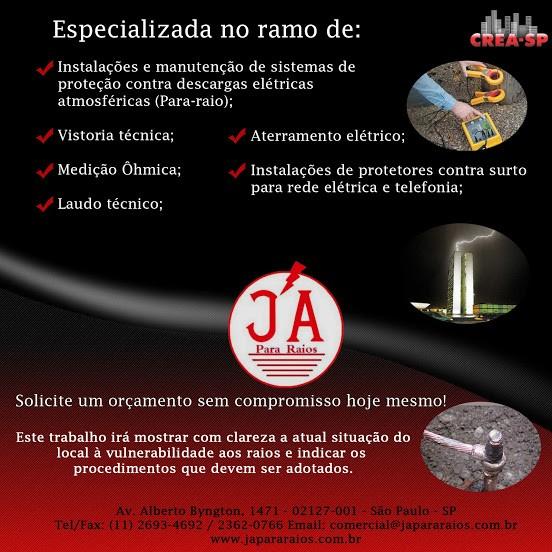 Empresas de para-raios sp